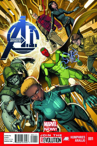 Avengers AI #1 (Humphries Signed Edition)