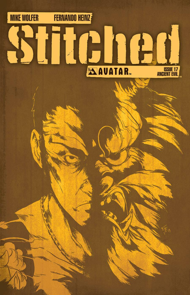 Stitched #17 (Ancient Evil Cover)