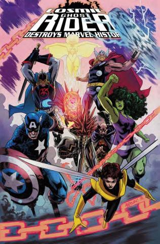 Cosmic Ghost Rider Destroys Marvel History #5 (Hepburn Cover)