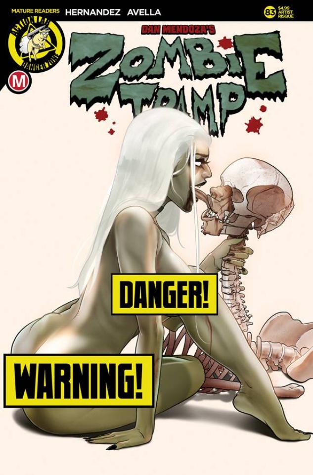 Zombie Tramp #83 (Akande Risque Cover)