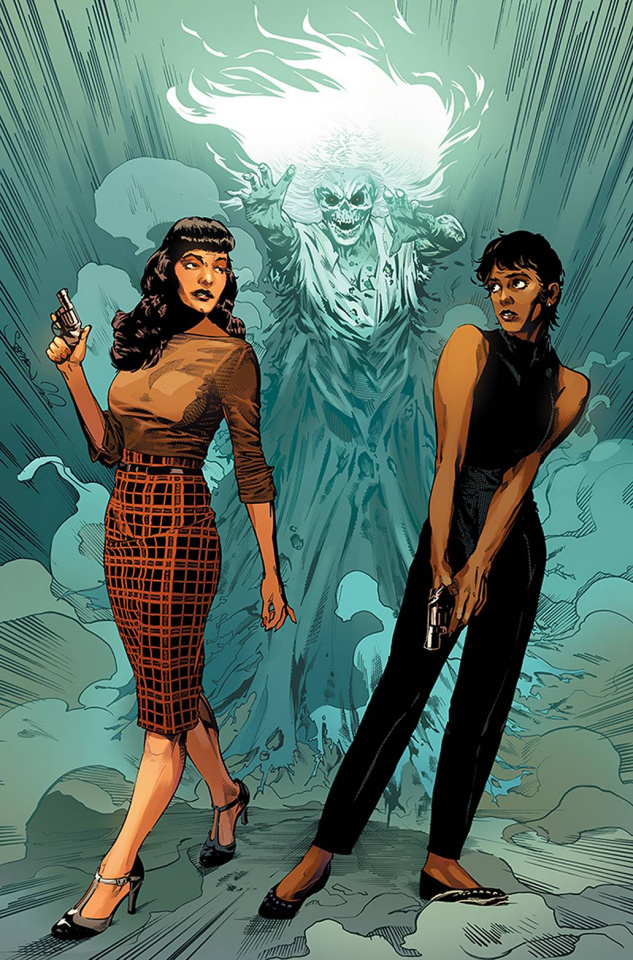 Bettie Page and The Curse of the Banshee #1 (Mooney Virgin Cover)