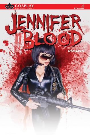 Jennifer Blood #1 (Cosplay Hollon Signed Edition)