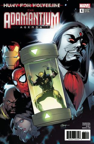 Hunt for Wolverine: The Adamantium Agenda #4 (Silva Cover)