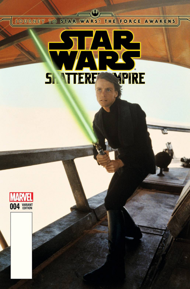 Journey to Star Wars: The Force Awakens - Shattered Empire #4 (Movie Cover)