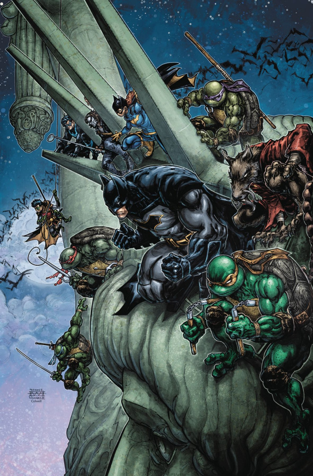 Batman / Teenage Mutant Ninja Turtles II #6