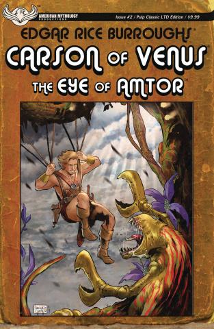 Carson of Venus: The Eye of Amtor #2 (Carratu Cover)