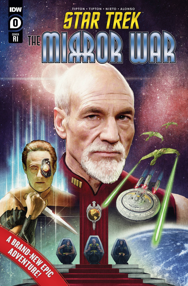 Star Trek: The Mirror War #0 (15 Copy Ralston Cover)