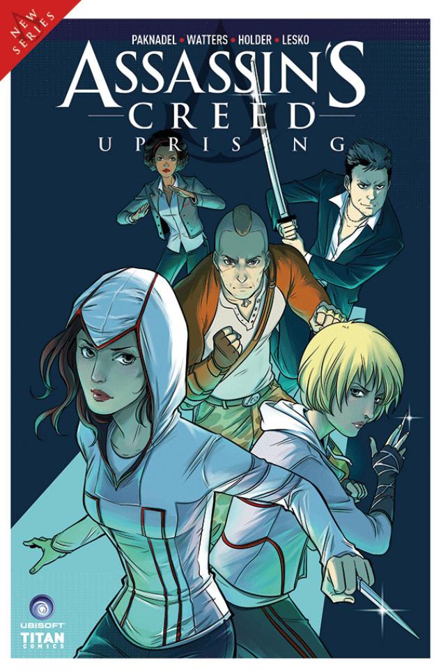 Assassin's Creed: Uprising #4 (Li Cover)
