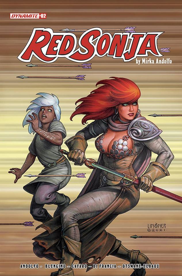 Red Sonja #2 (Linsner Cover)