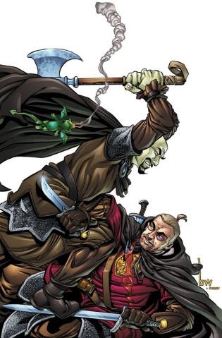 Lark's Killer #6 (Willingham Cover)