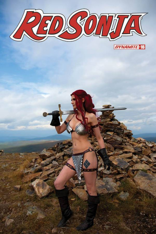 Red Sonja #16 (Decobray Cosplay Cover)
