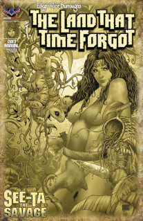 The Land That Time Forgot 2017 Annual (Antique Premium Cover)