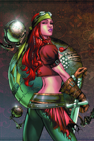 Legenderry: Red Sonja #1 (Benitez Virgin Cover)