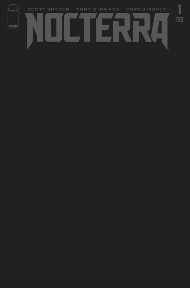 Nocterra #1 (200 Copy Blackout Cover)