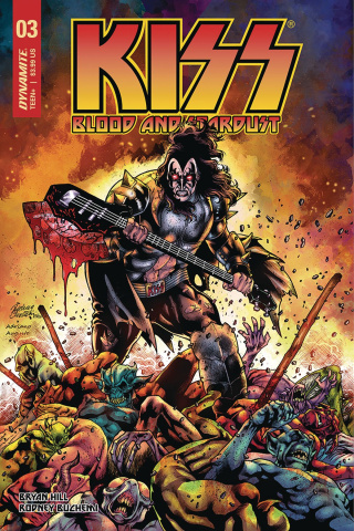 KISS: Blood and Stardust #3 (Buchemi Cover)