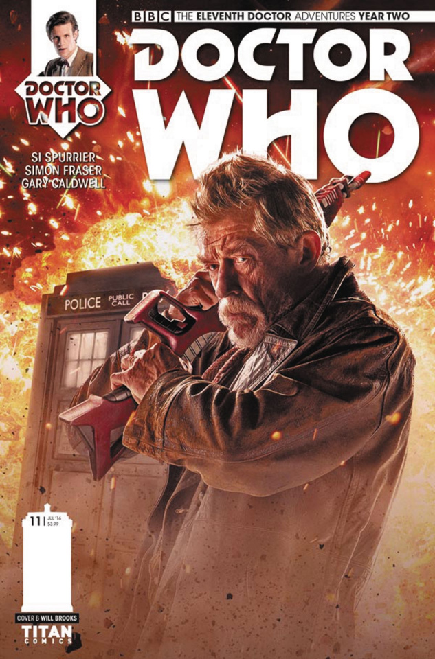 Doctor Who: New Adventures with the Eleventh Doctor, Year Two #11 (Photo Cover)