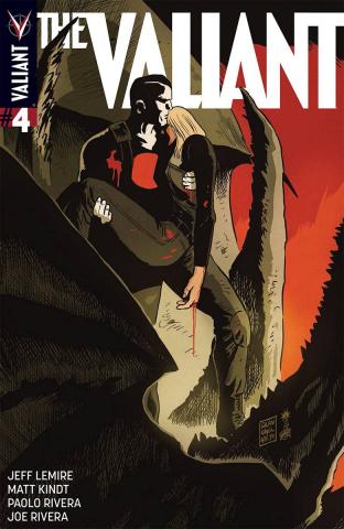 The Valiant #4 (50 Copy Francavilla Cover)