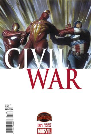 Civil War #1 (Granov Cover)