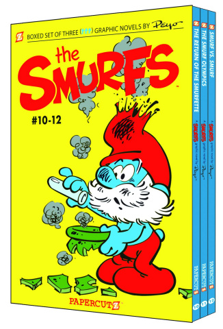 The Smurfs Box Set Vols. 10-12