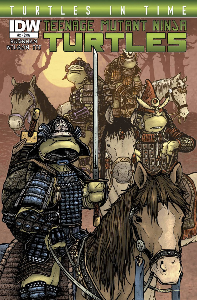 Teenage Mutant Ninja Turtles: Turtles in Time #2