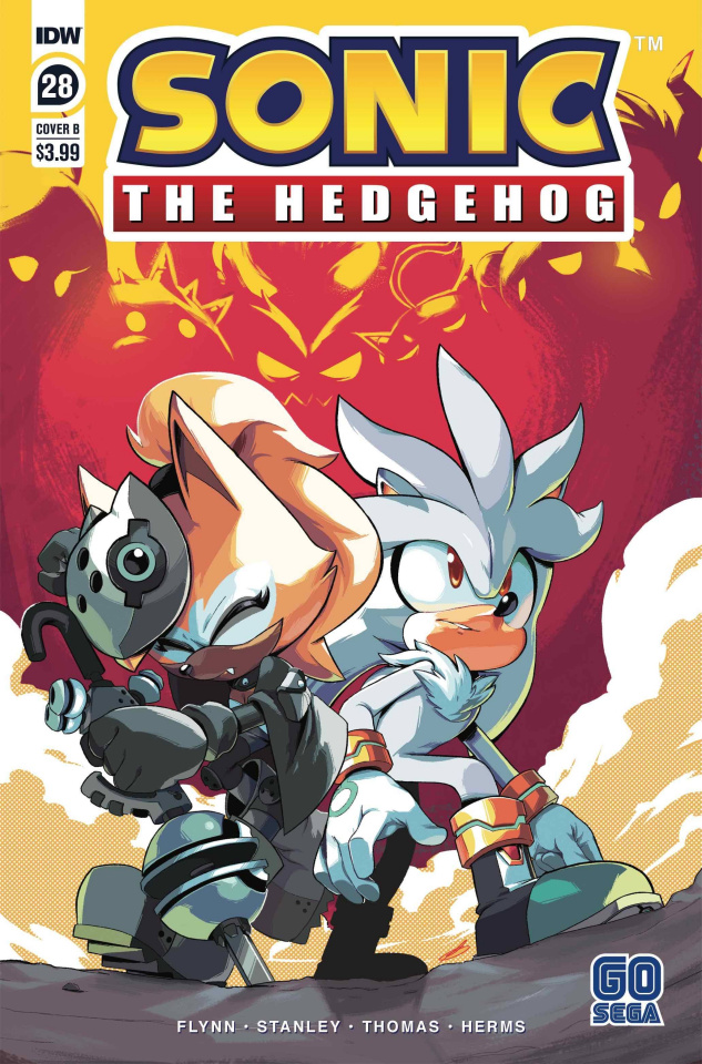 Sonic the Hedgehog #28 (Curry Cover)