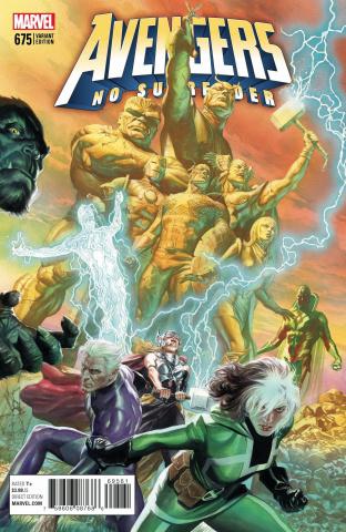 Avengers #675 (Ross Cover)