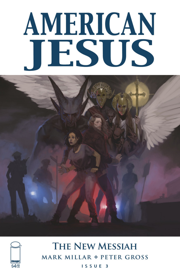 American Jesus: The New Messiah #3 (Top Secret Cover)