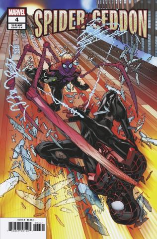 Spider-Geddon #4 (Garron Cover)