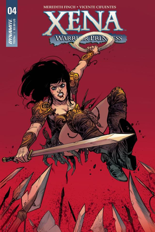 Xena #4 (Guara Cover)