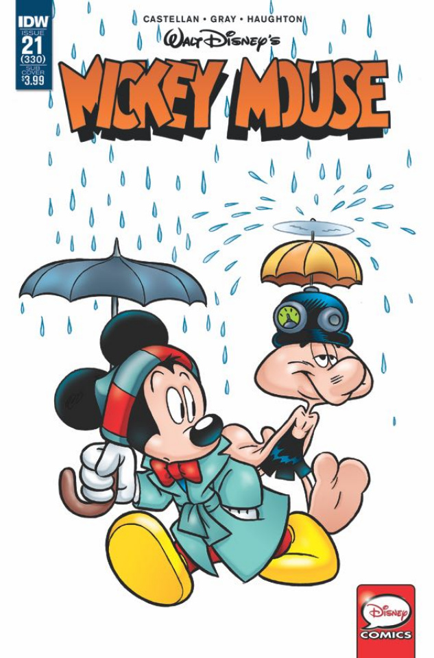 Mickey Mouse #21 (Subscription Cover)