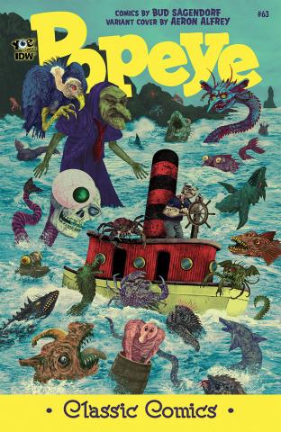 Popeye Classics #63 (10 Copy Cover)
