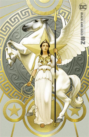 Wonder Woman: Black and Gold #2 (Joshua Middleton Cover)
