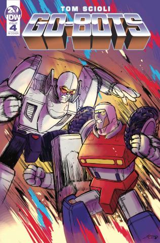Go-Bots #4 (10 Copy Milonogiannis Cover)