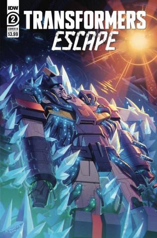 Transformers: Escape #2 (Anna Malkova Cover)