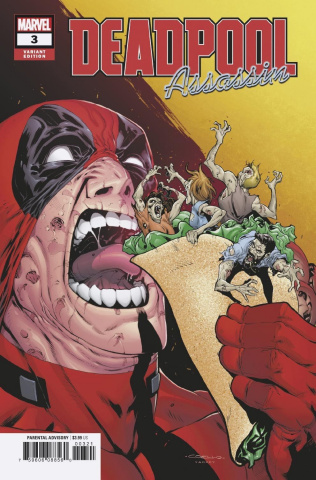 Deadpool: Assassin #3 (Coello Cover)