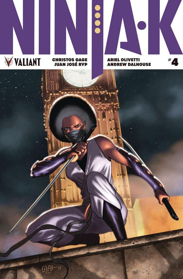 Ninja-K #4 (Cafu Cover)