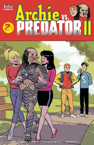 Archie vs. Predator II #2 (Smallwood Cover)