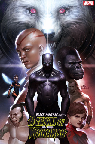 Black Panther and the Agents of Wakanda #1 (Inhyuk Lee Cover)