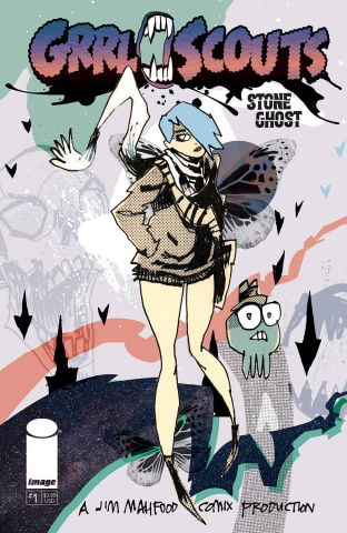Grrl Scouts: Stone Ghost #1 (Mahfood Cover)