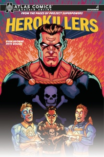 Project Superpowers: Hero Killers #1 (Atlas Comics Browne Cover)