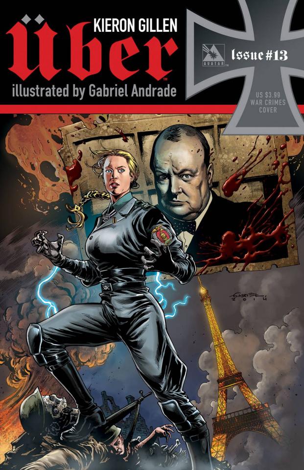 Über #13 (War Crimes Cover)