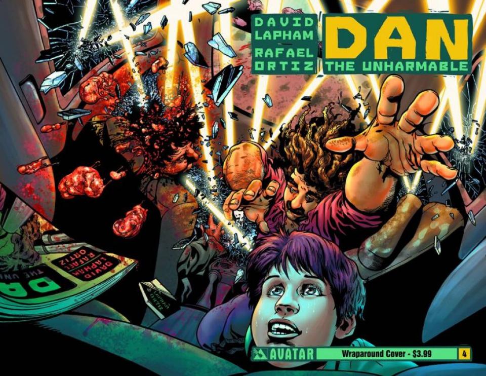 Dan the Unharmable #4 (Wrap Cover)