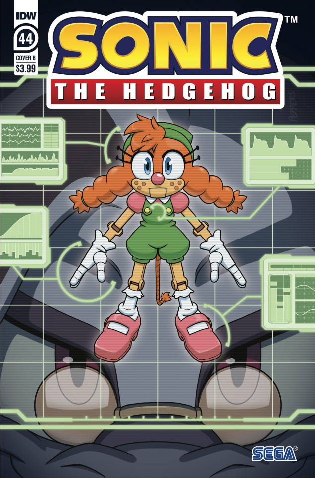 Sonic the Hedgehog #44 (Peppers Cover)
