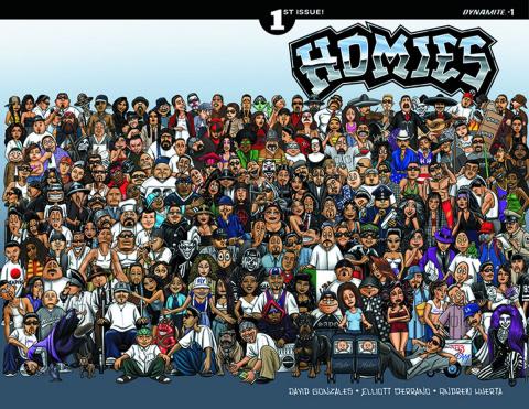 Homies #1 (Gonzalez Cover)