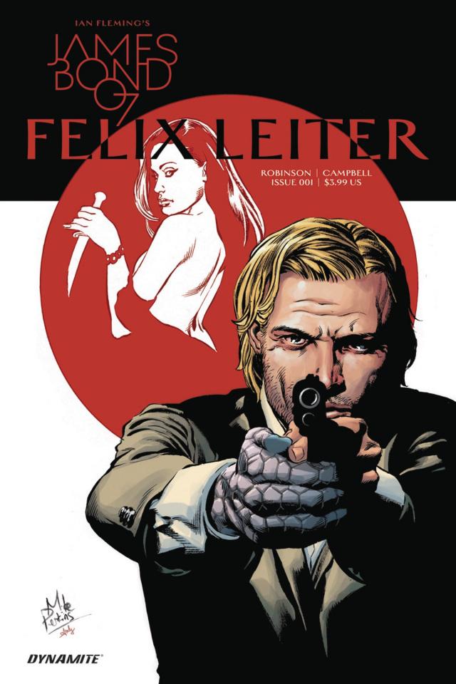 James Bond: Felix Leiter #1 (Perkins Cover)