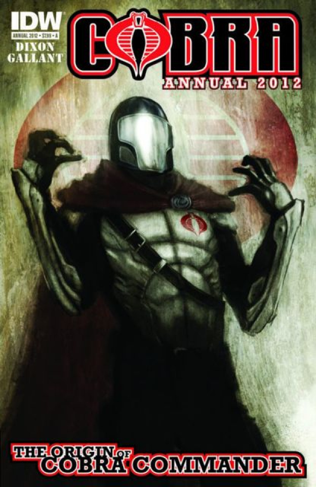 Cobra Annual 2012: The Origin of Cobra Commander