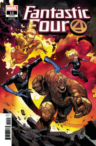 Fantastic Four #11 (Larraz Cover)