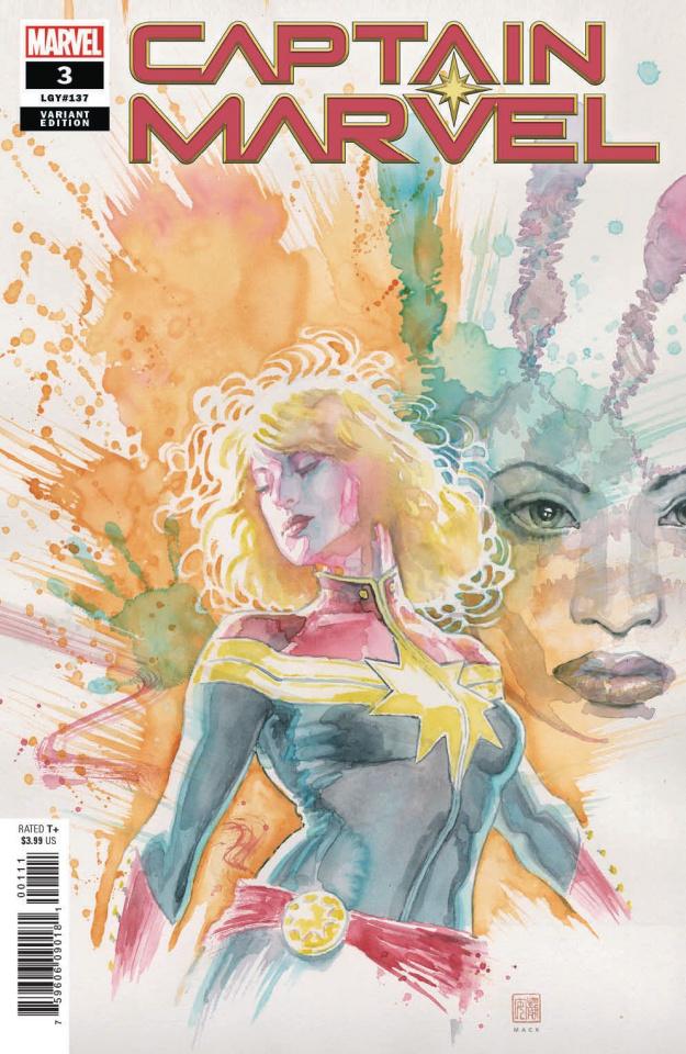 Captain Marvel #3 (Mack Cover)