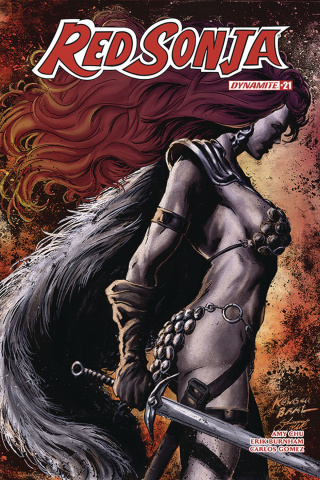 Red Sonja #21 (Baal Cover)
