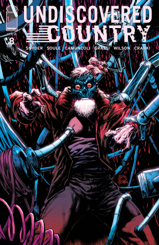 Undiscovered Country #8 (Stegman Cover)